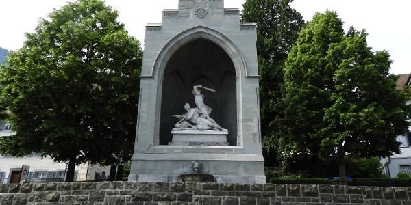 Winkelried Denkmal in Stans