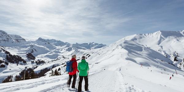 Winterwandern Sillerenbühl - Bergläger