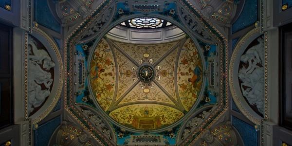 Kuppel im Albert Bad