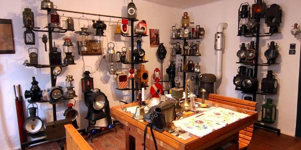 Vasúti Lámpamúzeum, Fertőszéplak