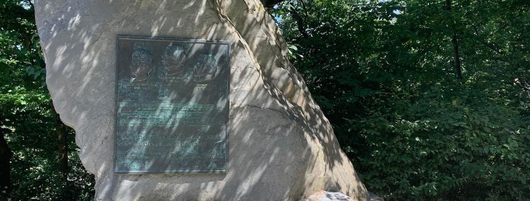 Schleifenroute - Maria Ruh Loreleyblick Gedenkstein