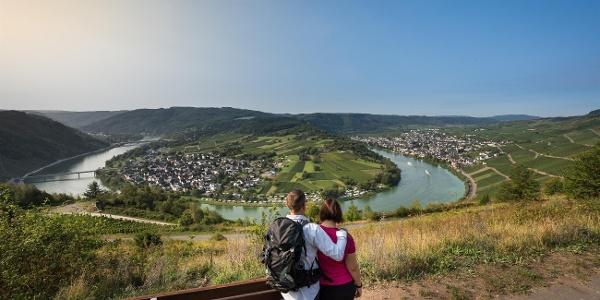 Aussichtspunkt Moselschleife Kröv