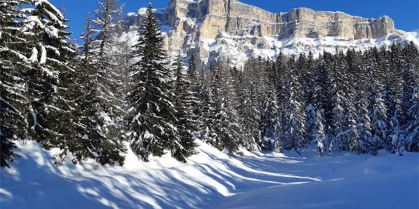 Lech Dlá Lé in winter