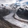 Grenzletscher und Gornergletscher