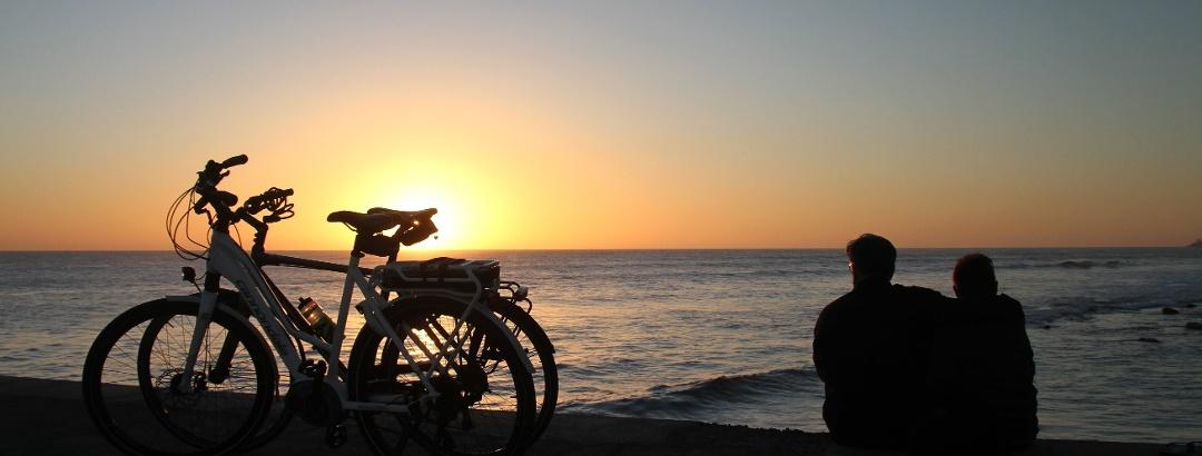 Mit der Fahrrad an der Küste auf Gran Canaria