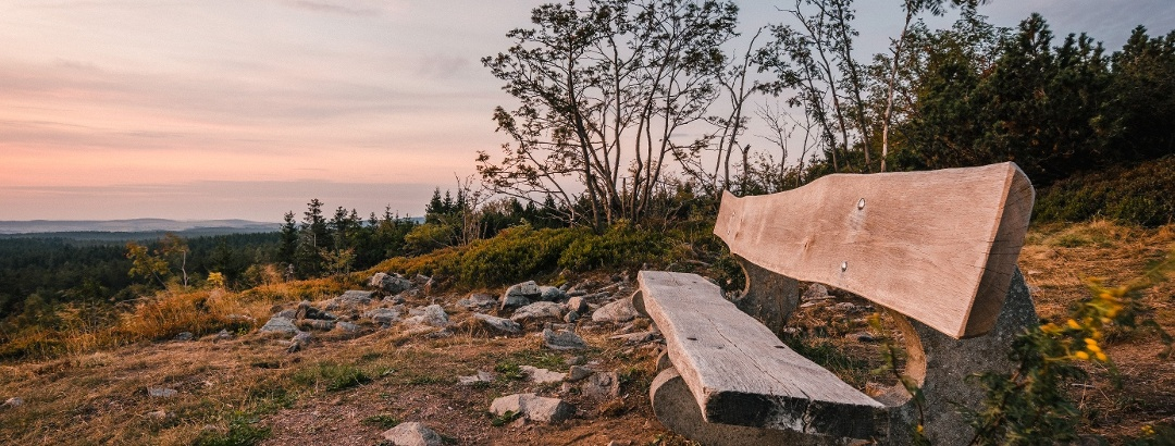 Auf dem Kahleberg - Sonnenaufgang