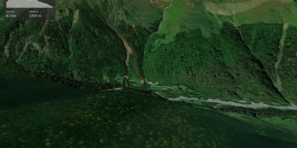 ruta de senderismo de larga distancia en Midi-Pyrénées: TVA Etapa de la ARTIGA DE LIN a BOSSÒST