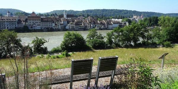 Adelberg mit Blick auf Rheinfelden (CH)