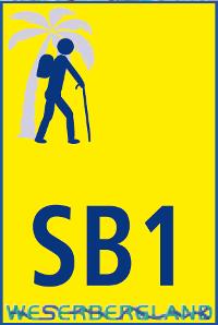 Wanderzeichen SB