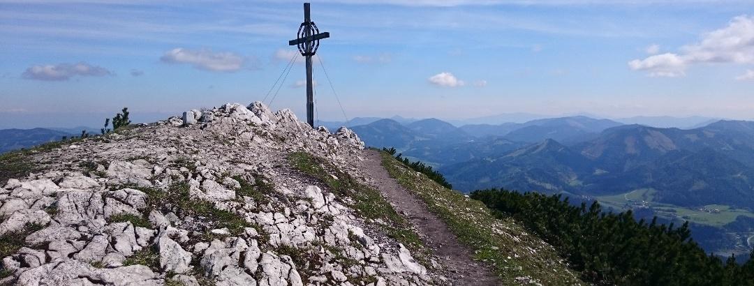 Gipfelkreuz auf der Gemeindealpe