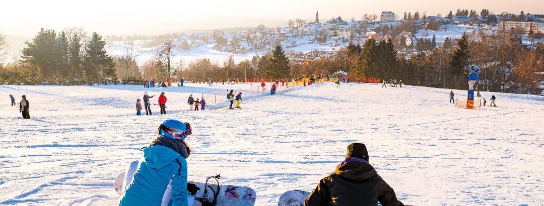 Schöneck Winter Skiwelt