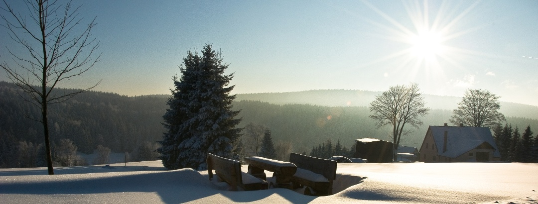 Winter im Vogtland Gottesberg