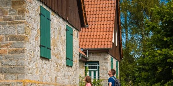 Aa-Häuser auf der Schützenwiese in Bleiwäsche