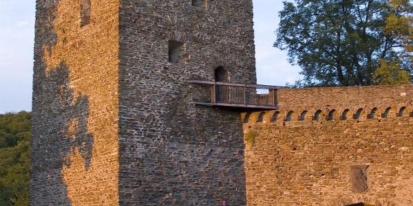 Burg Sayn, Außengelände