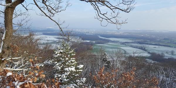 Plaine d'Alsace depuis le Mont St Michel