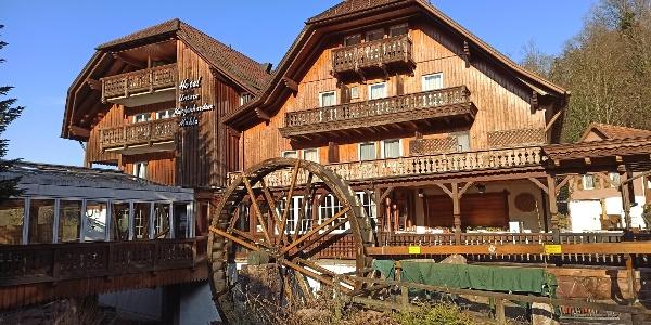 Die Untere Kapfenhardter Mühle ist eine der drei Mühlen am Mühlenweg