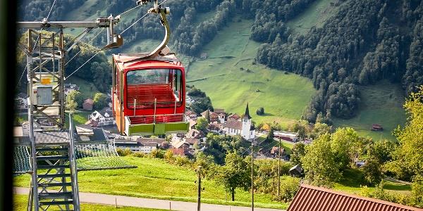 Luftseilbahn Illgau - St. Karl