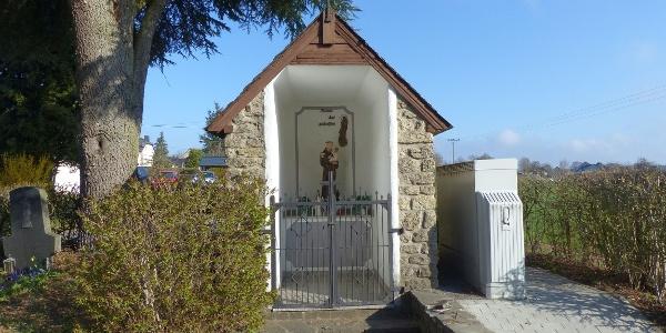 Wegekreuz-Kapelle in Dahnen