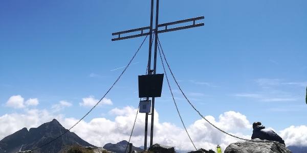 Höchstein - Gipfelkreuz