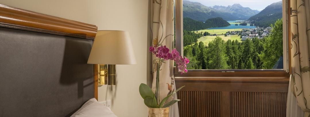 ENGADIN St. Moritz: Schlafen bei offenem Fenster