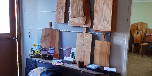 Produkte der Tischlerei