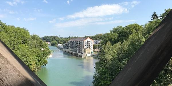 Blick von der König-Ludwig-Brücke