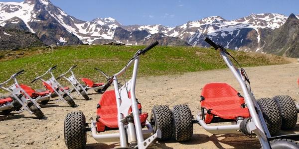 Mountaincart in Schnals zu Tal