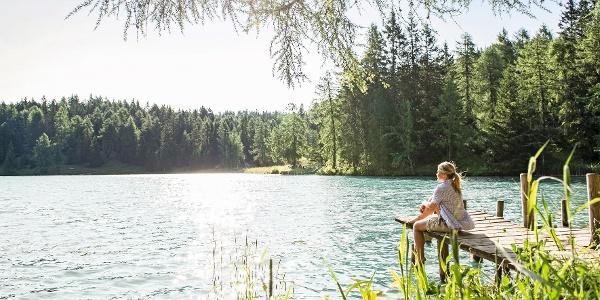 Felixer Weiher (Lago di Tret)