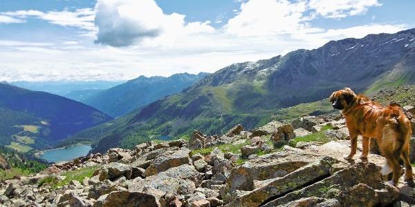 Von Weißbrunn hinauf zum Grünsee und Abstieg über Lang- und Fischersee