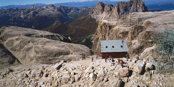 Am höchsten Punkt vom Sellastock - dem Piz Boè.