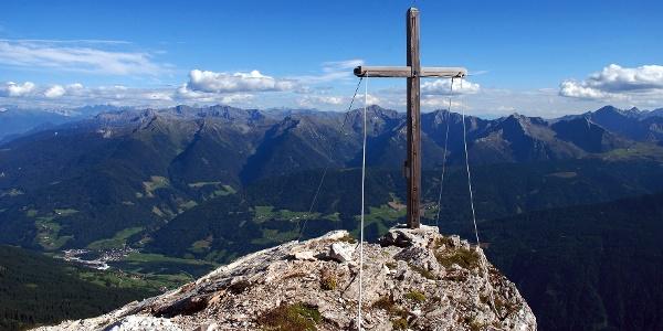 Mountaineering on the Telfer Weißen