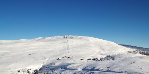 Die Premium Panorama Tour Rittner Horn führt am Unterhornhaus vorbei bis auf das Obere Horn.