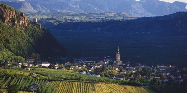 The village Terlan and its surroundins are worth to see.