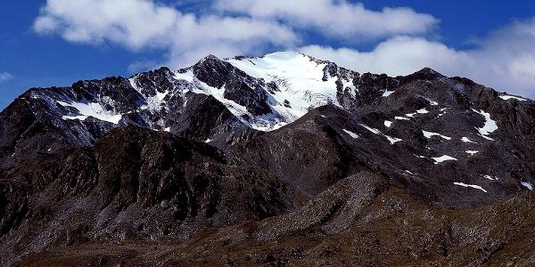 The mountain Orecchio di Lepre in Val Venosta.
