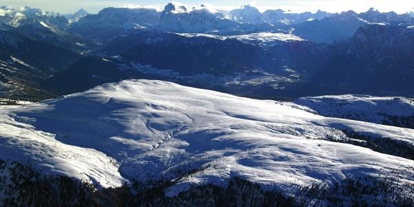 Die Hochfläche der Villanderer Alm im Eisacktal
