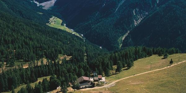 Furkelhütte mit einzigartigem Panorama