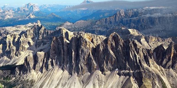 Die Geisler, faszinierende Felsen für Klettersportler