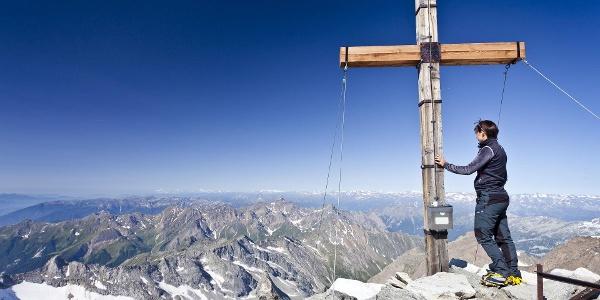 Hochfeiler Gipfelkreuz