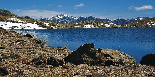 Der Rasaß-See im Zerzer Tal