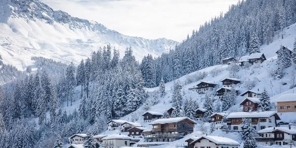Churwalden im Winter