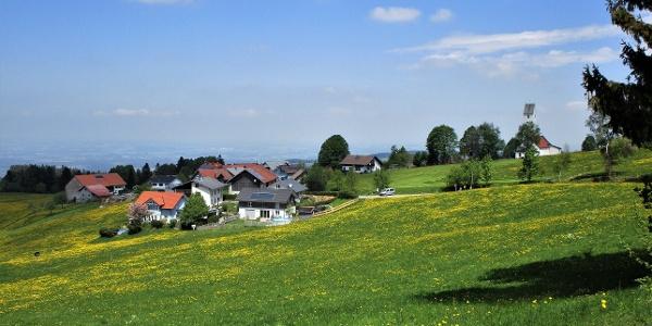 Höhenweg nach Scheidegg