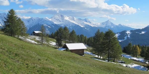Stuller Mader mit Sarntaler Alpen