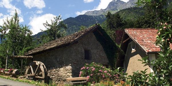 Alte Wassermühle bei Algund im Meraner Land