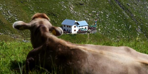 Die Lodnerhütte wird beobachtet.