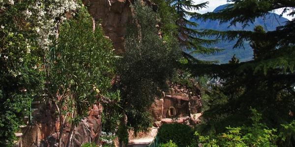 The Guncina Promenade offers beautiful views over Bolzano.