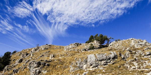 Von Col Raiser über die Regensburger Hütte zur Stevia-Alm oberhalb von St. Christina.