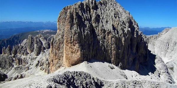 TheCatinaccio d'Antermoia mountain is the most elevated summit in the gruppo del Catiaccio mountain group.