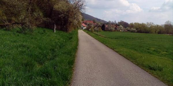 Radweg bei Nedensdorf