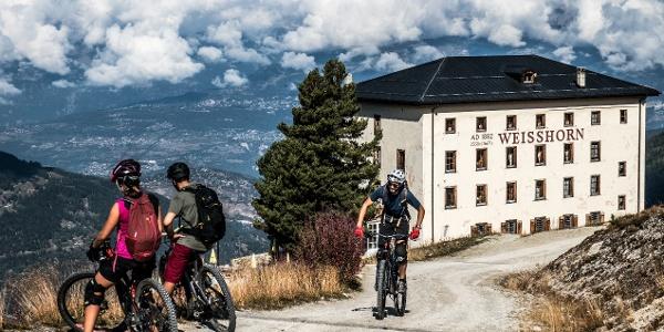 Balade Gourmande e-bike St-Luc Chandolin