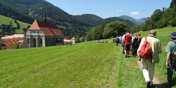 Neuberger Literaturpfad - Schenkfeldpromenade